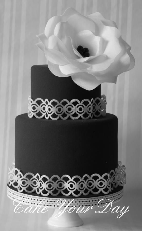Black&White cake