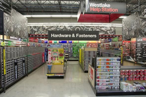 westlake ace hardware is showing off a new fresh design
