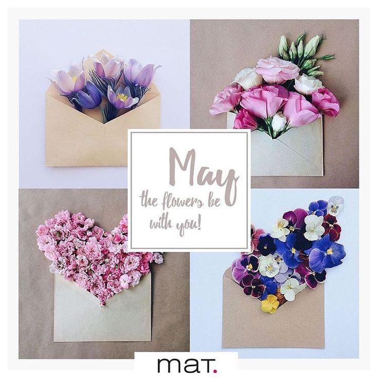Χαιρόμαστε τον πιο ανθισμένο μήνα της άνοιξης! Καλό μήνα! #matfashion #may #flowers #spring