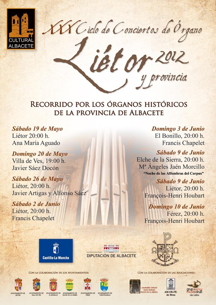 Ciclo de Conciertos de Órgano de Liétor 2012