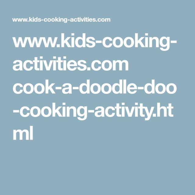 www.kids-cooking-activities.com cook-a-doodle-doo-cooking-activity.html