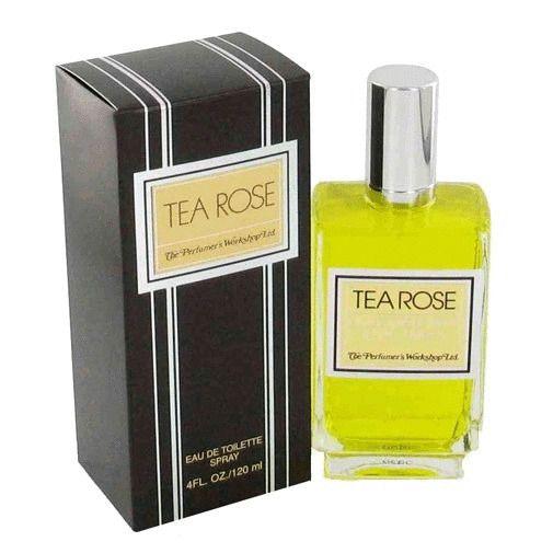 Tea Rose Perfume by Perfumer's Workshop 4 oz EDT Spray for women NEW IN BOX #PerfumersWorkshop