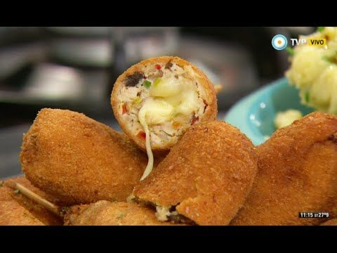 17 best images about croquetas falafel on - Como preparar pinchos de pollo ...