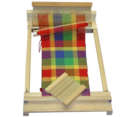 10 Inch Beginners Weaving Loom by EndeavourToys on Etsy, $69.99