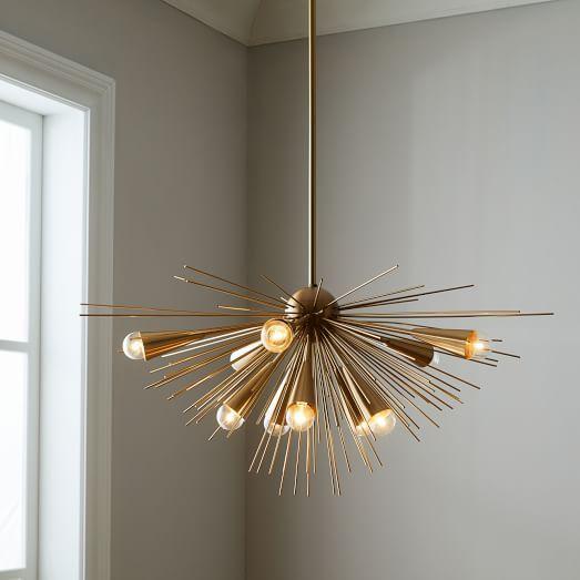 Pendant light fixtures · sputnik chandelier