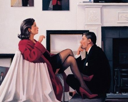 Jack Vettriano - Models In The Studio