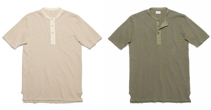 Loop & Weft Egyptian Cotton Henleys - http://hddls.co/2CPO8If