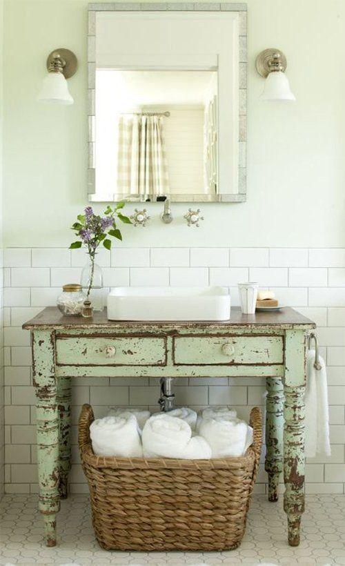 Wie man moderne und Weinlese-Designs im Badezimmer effektiv zusammenführt – Dekorationblog