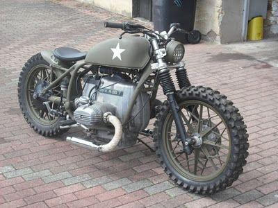 Jolie moto, idée de customisation.