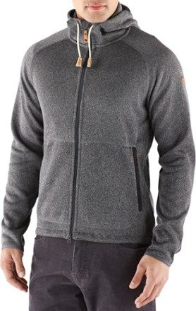 Fjallraven Ovik Fleece Hoodie Men's | REI Co op | Fleece