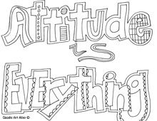 all quotes coloring pages (great quotes doodle page, great to use in the classroom for some motivational decoration or even at work when you need a little encouragement during the day.)