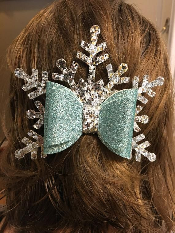 Digital Svg Dxf Pdf Winter Queen Hair Bow Template