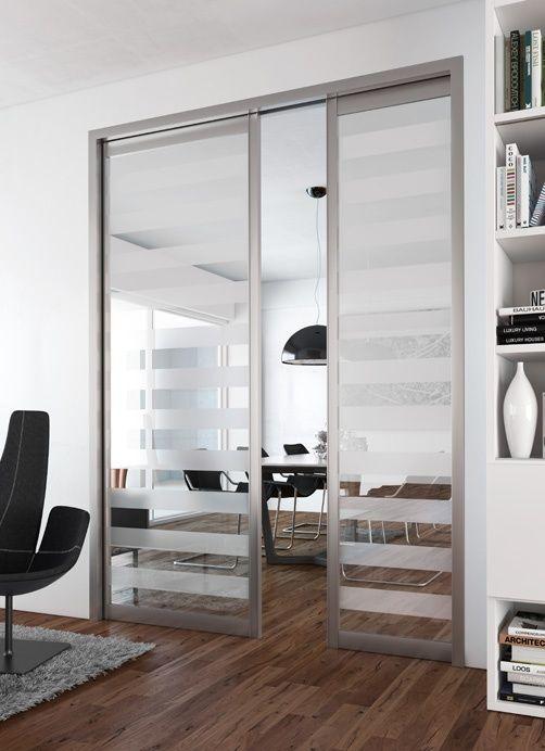 As 20 melhores ideias de porte coulissante miroir no for Sogal portes coulissantes