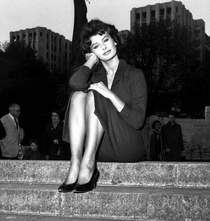 "honey-rider: "" Sophia Loren Photographed in London 1957 """