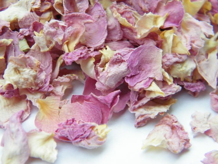 how to make confetti from petals