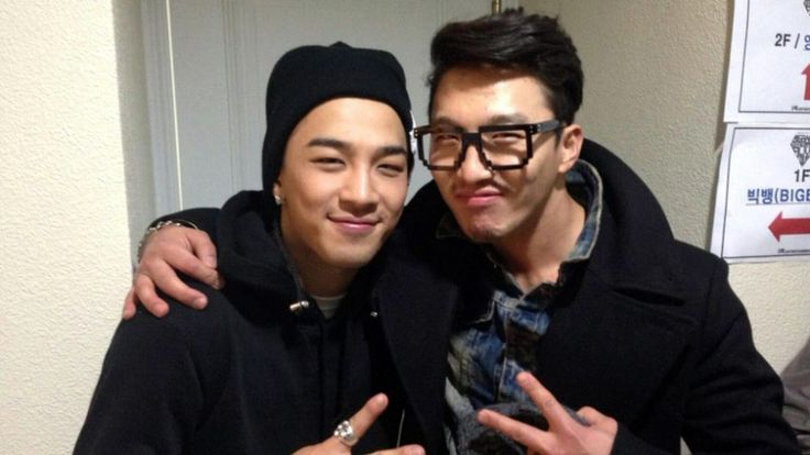 Taeyang and his actor brother.