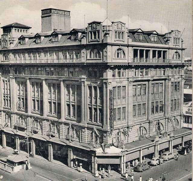 Stuttfords Departmental Store, corner of Field & West Streets.