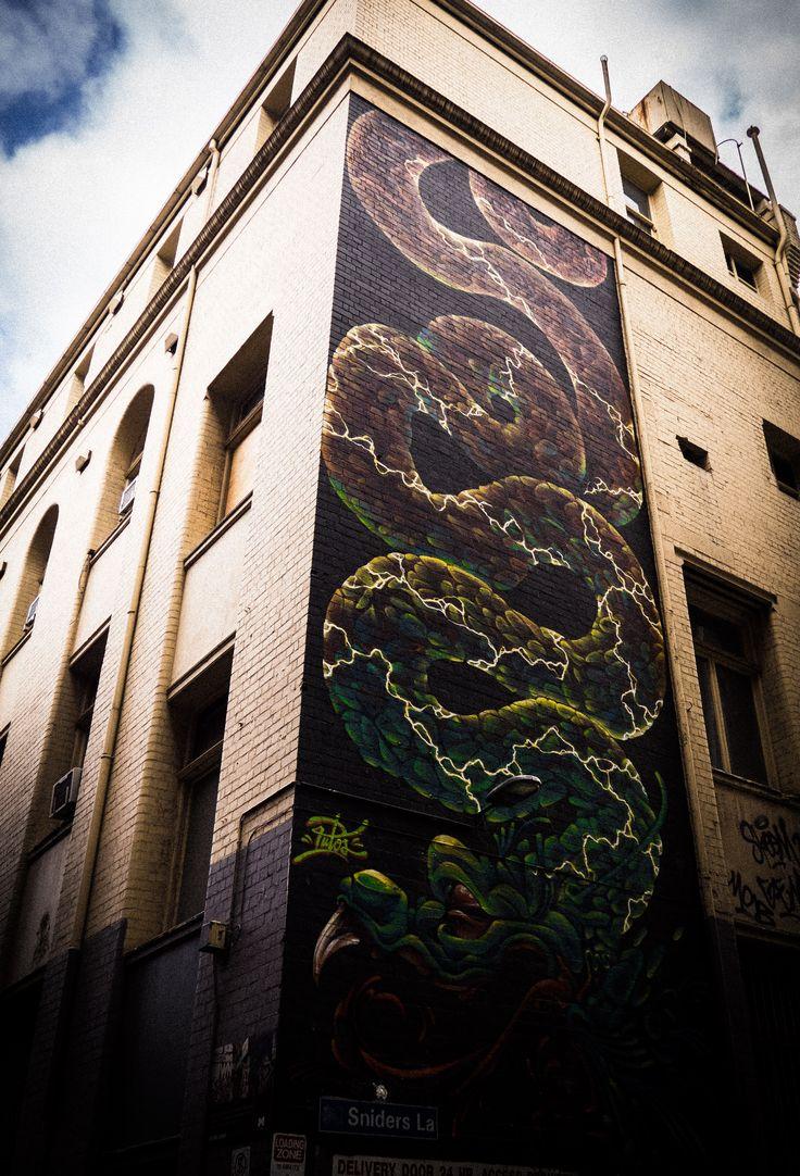 Melbourne Street Art, just off Lonsdale Street.