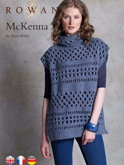 McKenna - textured and openwork tunic - free crochet pattern