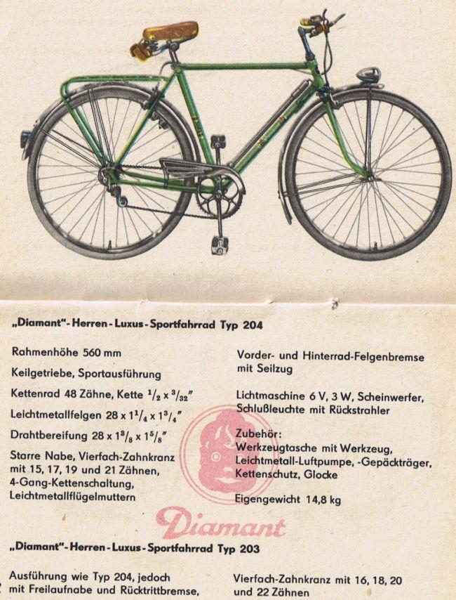 DDR Diamant Rennrad - Diamant- Fahrraeder