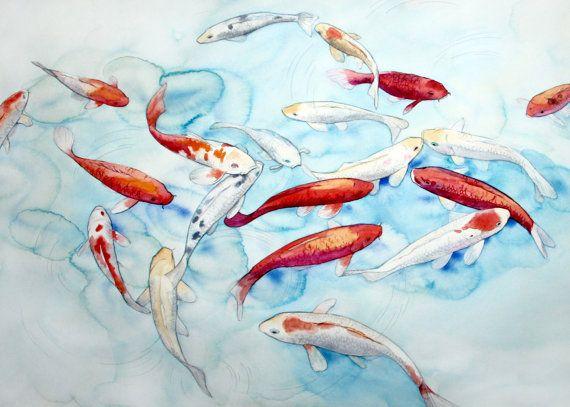 Printable wall art  Watercolor poster Make a by TatyanaKomarovaArt