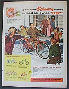 Vintage Ad: 1957 Schwinn Bikes