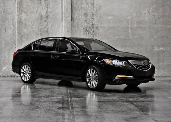 2014 Acura RLX Sport Hybrid Black 600x429 2014 Acura RLX Sport Hybrid Full Review with Images