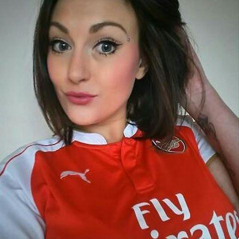 beautiful Goonerette ❤ #COYG #goonerette #Arsenal