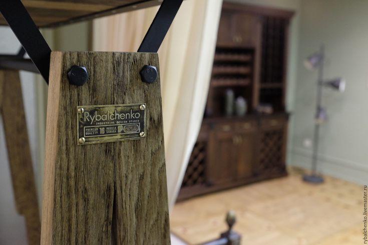 Купить Вешалка Industrial - вешалка, вешалка в прихожую, вешалка для одежды, вешалка настенная, мебель из дерева