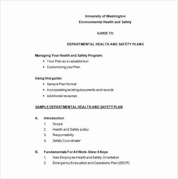 30 Osha Fall Protection Plan Template In 2020 Safety Policy How