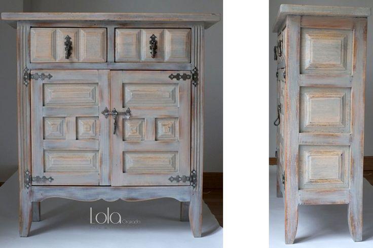 M s de 1000 ideas sobre muebles antiguos pintados en - Reformar muebles viejos ...