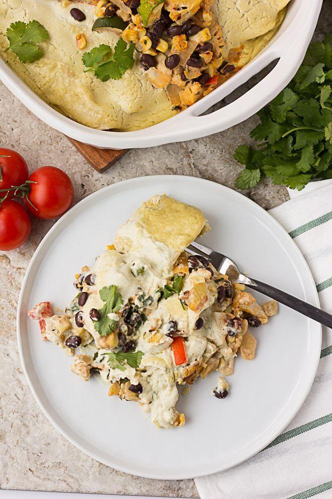 Vegan Sour Cream Enchiladas Nora Cooks Sour Cream Enchiladas Vegan Sour Cream Whole Food Recipes