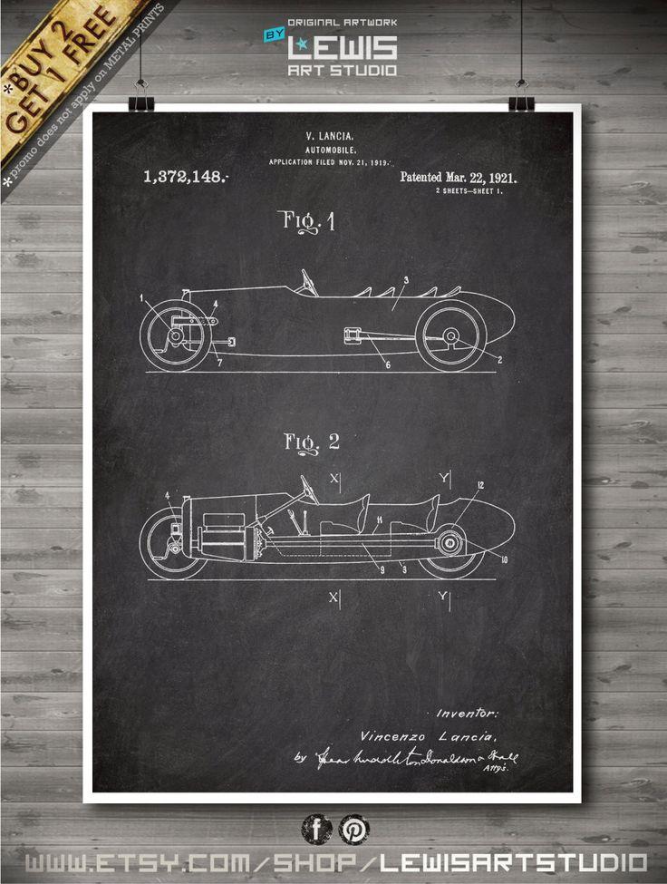 Lotus Lancia poster, Lotus Lancia patent, Lotus Lancia print, Lotus Lancia Art, Lotus Lancia Wall Decor no85-1