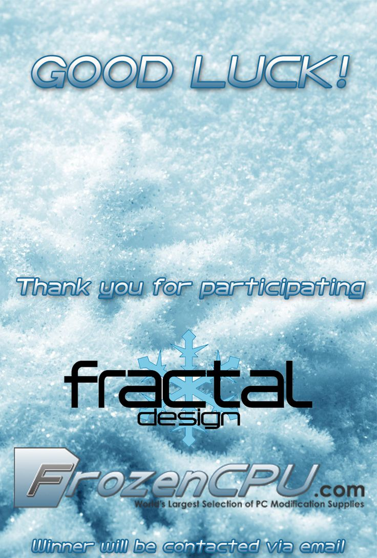 FrozenCPU - Fractal Design Define R4 Giveaway