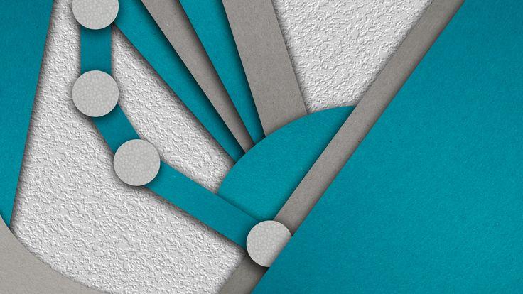 Material design: Ook structuren en schaduwen komen aan bod om diepte te maken. Wat me opvalt is dat de kleur blauw heel vaak terugkeert bij material design