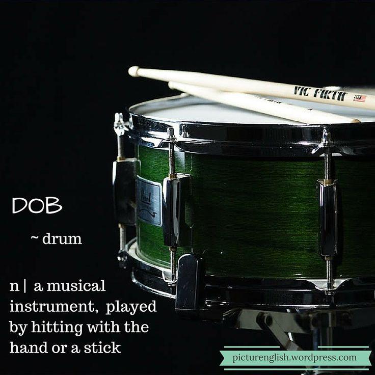 Drum / Dob.