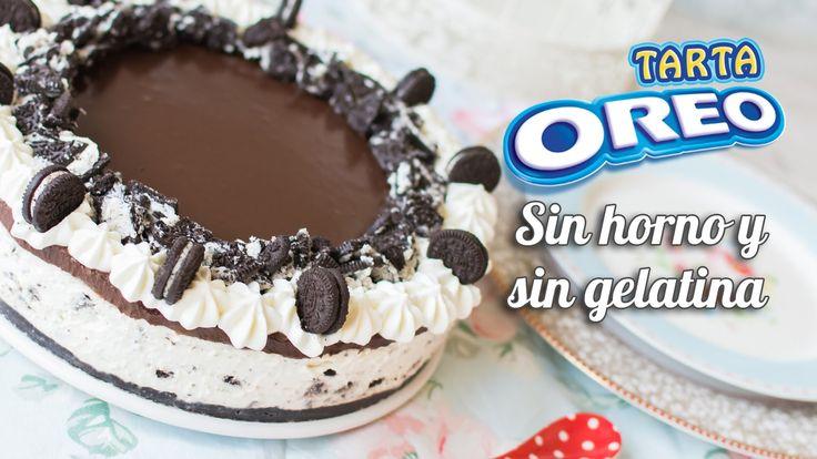 Tarta Oreo | Sin horno, sin gelatina y sin complicaciones | Quiero Cupca...