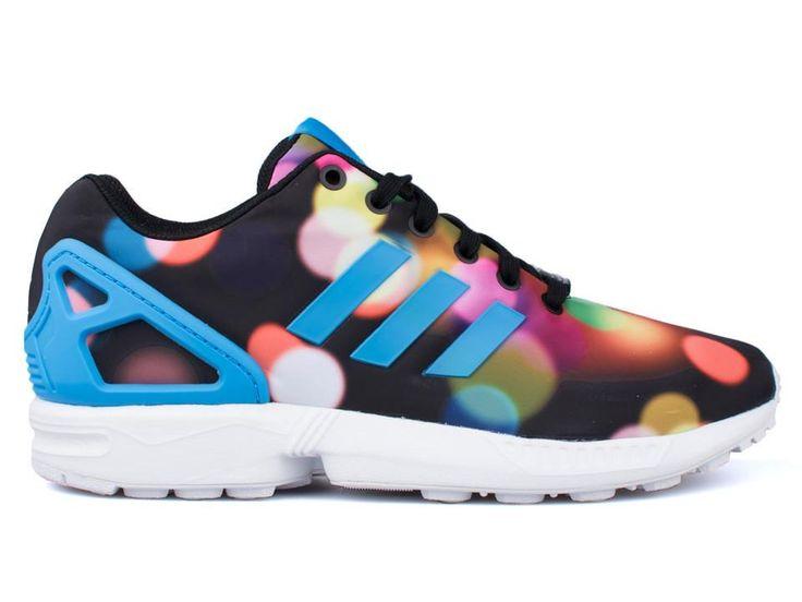 zapatillas adidas retrorunning ZX Flux estampado