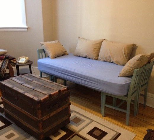Make a Cheap Daybed