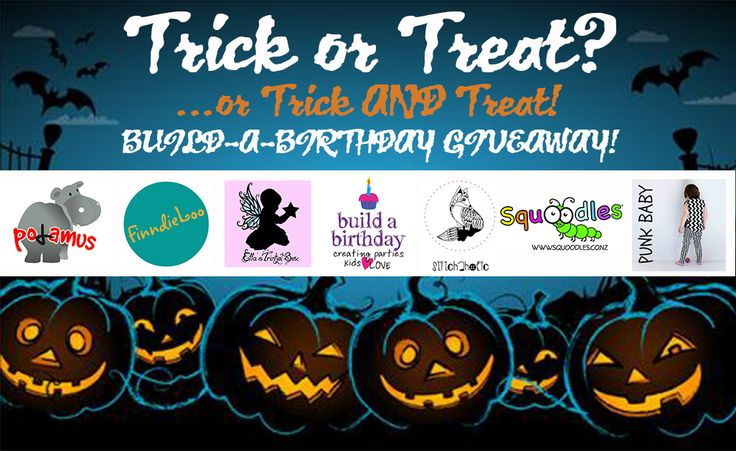 Enter to win: Build-a-Birthday Halloween Giveaway | http://www.dango.co.nz/s.php?u=STL6rQCZ2595