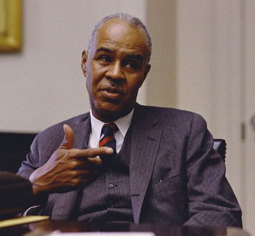 Roy Wilkins , former head of NAACP - Omega Psi Phi