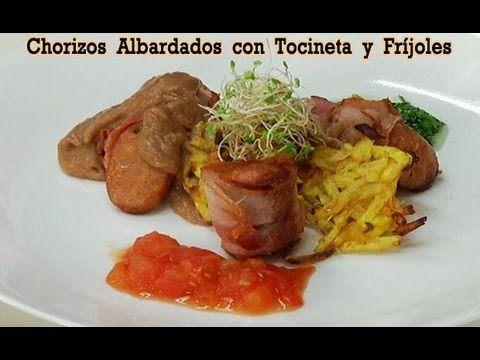 "Chorizo Albardado con Tocineta, Fríjoles y Cilantro,en Tu Cocina ""Ricas Recetas"" - Canal Cosmovision - YouTube"