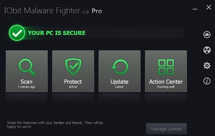 IObit Malware Fighter 3