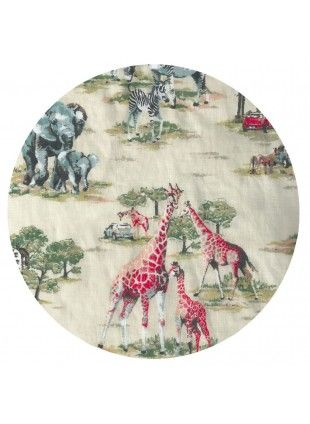 Animal Fitted Cot Sheet