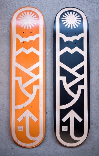 Amazing deck design by Draplin.