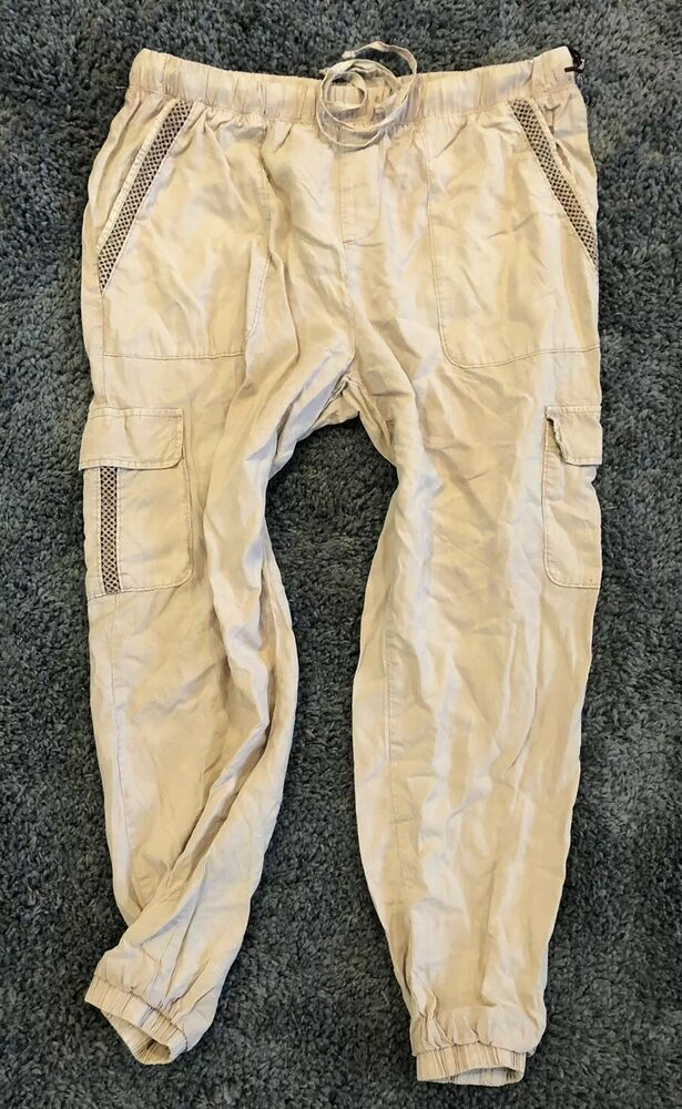 29ed3e7a9cc Details about Knox Rose Blush Pink Lyocell Joggers Pants XL Extra ...