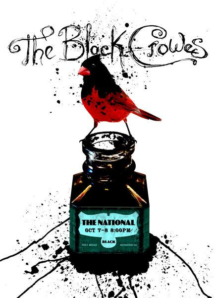 The Black Crowes from October 7 and 8, 2008