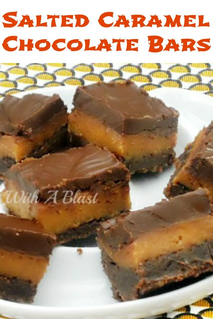 1000+ images about Bars on Pinterest | Pecan pie bars, Salted caramels ...