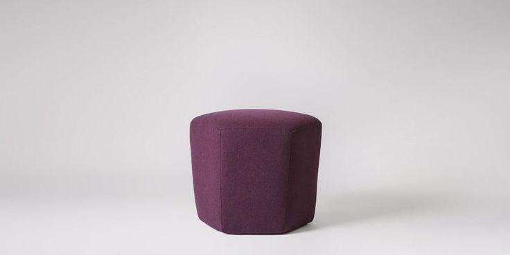 Hagen Small Ottoman | Swoon Editions