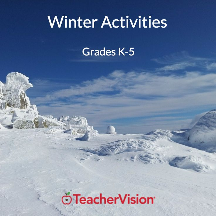 Six more weeks of winter? Keep students busy with these winter activities!